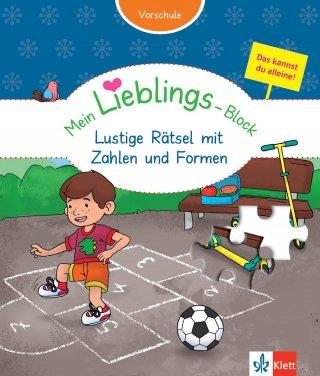 Klett Mein Lieblings-Block Lustige Rätsel mit Zahlen und Formen