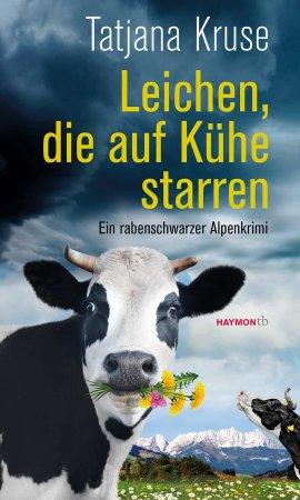 Leichen, die auf Kühe starren