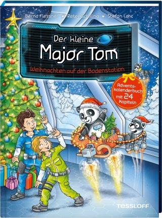 Der kleine Major Tom. Weihnachten auf der Bodenstation. Adventskalenderbuch mit 24 Kapiteln