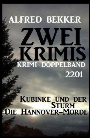 Krimi Doppelband 2201 – Zwei Krimis