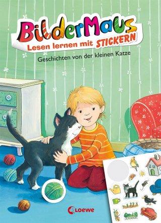 Bildermaus - Lesen lernen mit Stickern - Geschichten von der kleinen Katze