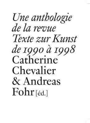 Texte zur Kunst (1990-1998)